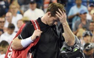 Otro candidato fuera: eliminaron a Andy Murray del US Open