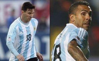Messi y Tevez jugarán juntos en Argentina tras cinco años