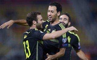 España derrotó a Macedonia por 1-0 y está cerca de la Eurocopa