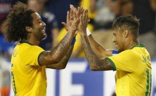 Brasil goleó 4-1 a Estados Unidos con doblete de Neymar