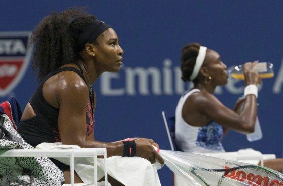 Las mejores fotos del partido entre las hermanas Williams
