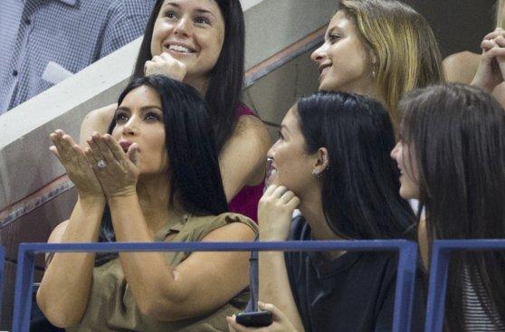 Los famosos que disfrutaron del duelo entre Serena y Venus
