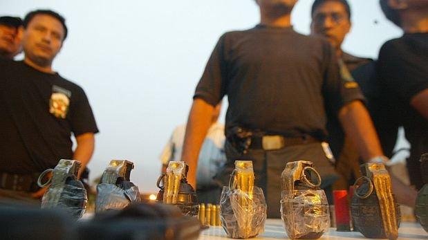 Defensoría pide subir penas por tenencia ilegal de explosivos
