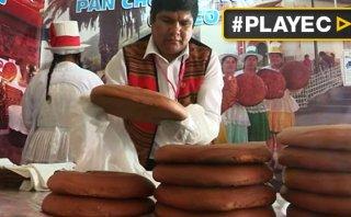 Pan chuta, único por mezclar costumbres andinas y coloniales