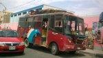 Chimbote: detienen a balazos a banda que asaltó bus - Noticias de carlos morán