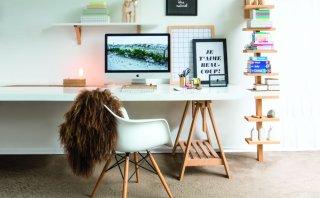 Crea un escritorio para el área de trabajo de tu casa