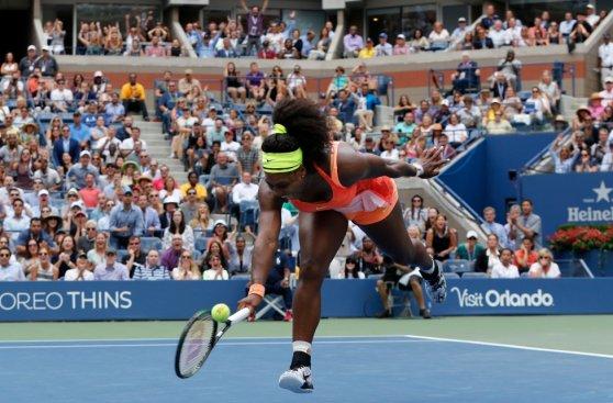 La amargura de Serena: rompió raqueta y se despidió del US Open