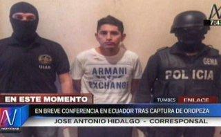 Oropeza sería expulsado de Ecuador esta mañana
