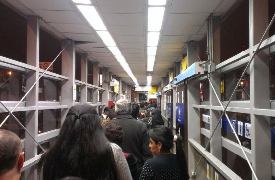 Metropolitano: policía realizó operativos en las estaciones