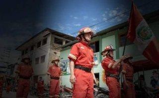 Moyobamba: bombero muere al caer de vehículo