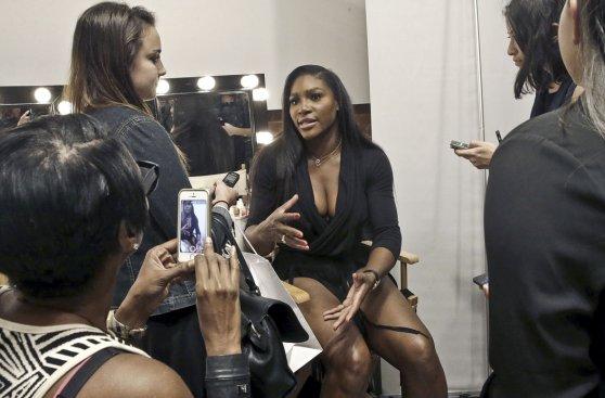 Serena Williams presentó su colección en Nueva York [FOTOS]