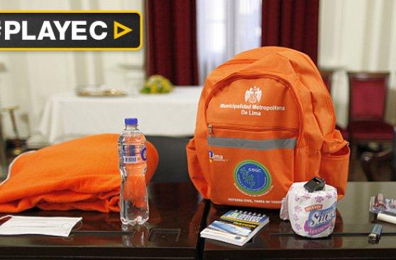 Temblor en Lima: Cómo preparar tu mochila de emergencia [VIDEO]