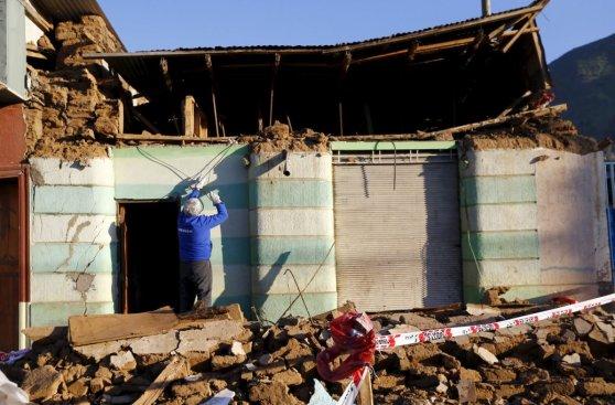 Terromoto en Chile: Illapel, la ciudad que quedó en escombros