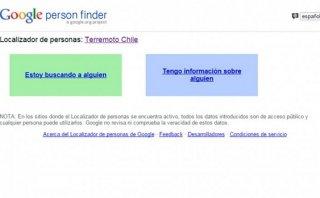 Google habilita localizador de personas por Terremoto en Chile