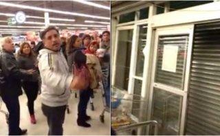 Terremoto en Chile: Tienda encerró a sus clientes en pleno caos