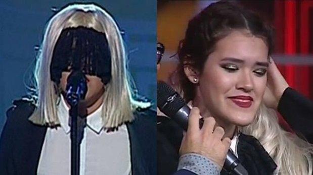 """""""Yo soy"""": imitadora de Sia finalmente reveló su identidad"""