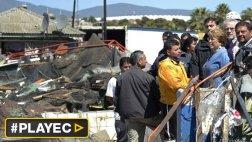 Terremoto en Chile: Bachelet visitó las zonas afectadas [VIDEO]