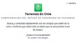 Facebook te avisa si tus amigos están bien tras el terremoto