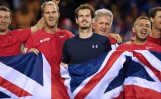 Gran Bretaña alcanzó la final de la Davis de la mano de Murray
