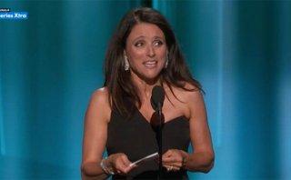 Emmy 2015: Julia Louis Dreyfus y su indirecta a Donald Trump