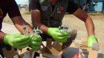 Chimbote: posta del Minsa botaba material peligroso a la calle - Noticias de residuos hospitalarios