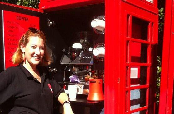 Las casetas telefónicas de Londres se convierten en negocios