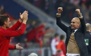 Pep alabó con estas palabras a Lewandowski tras sus cinco goles