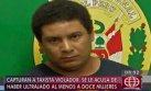 Capturan a falso taxista acusado de violar a más de 6 mujeres