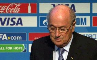"El 'blooper' de Joseph Blatter cuando tradujo ""River Plate"""