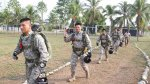 Militares demostraron su destreza en el paracaidismo [FOTOS] - Noticias de virgen de la merced