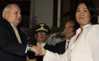 Keiko Fujimori se reunirá con Pedro Cateriano este viernes