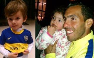 """Carlos Tevez: """"Te quiero Carlitos"""", le dijo un niño de 4 años"""