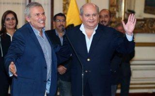 Pedro Cateriano y alcalde Luis Castañeda se reúnen esta tarde