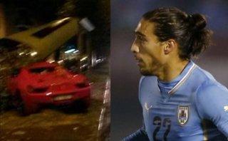 Juventus multó y excluyó a Martín Cáceres tras accidente