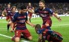 Luis Suárez marcó golazo del triunfo de Barcelona sobre Bayer