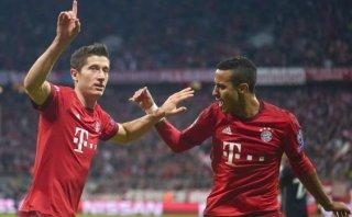 Robert Lewandowski anotó hat trick en goleada del Bayern Múnich