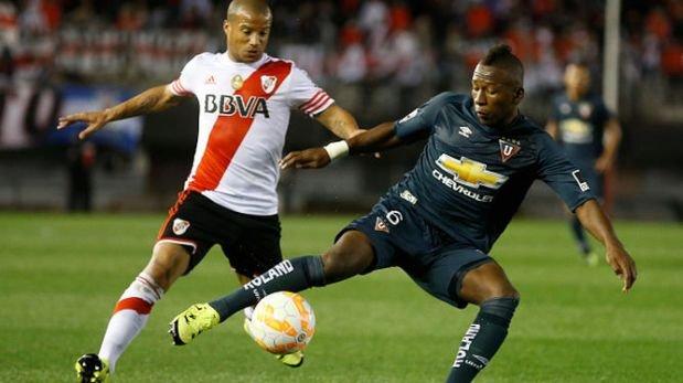 River Plate clasificó a pesar de caer 1-0 ante Liga de Quito