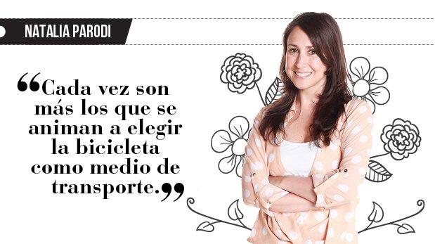 "Natalia Parodi: ""La reconquista de la bicicleta"""