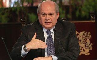 """Cateriano: """"Amenaza de censura afecta estabilidad del Gabinete"""""""