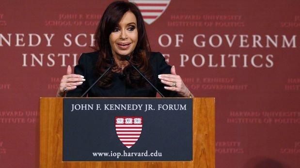 Cuando Cristina Fernández de Kirchner causó polémica en Harvard