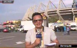 Perú vs. Colombia: una prueba del intenso calor en Barranquilla