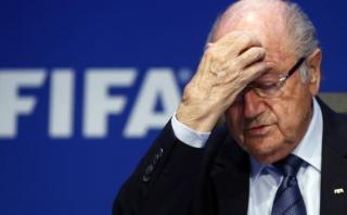 """Blatter califica de """"indignante"""" investigación en su contra"""
