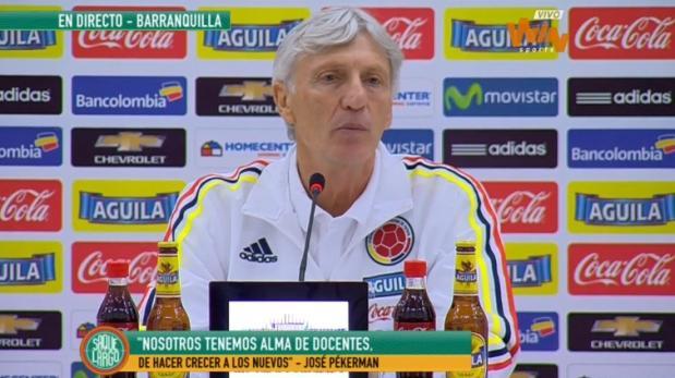 José Pekerman: todo lo que dijo antes del duelo Perú-Colombia