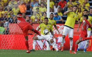 Perú cayó 2-0 ante Colombia en el inicio de las Eliminatorias