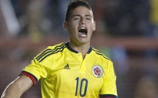 """James Rodríguez sobre el Perú-Colombia: """"Qué sufridera"""""""