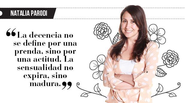 """Natalia Parodi: """"Sensualidad vs. Maternidad"""""""