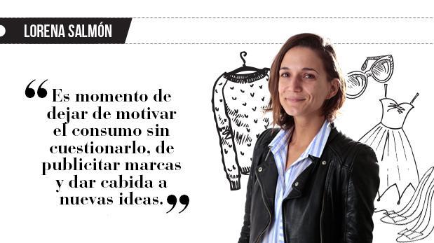 """Lorena Salmón: """"Por ellas  (o como ellas)"""""""
