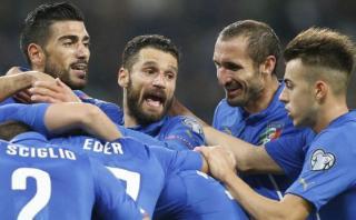 Italia ganó 3-1 a Azerbaiyán y clasificó a la Eurocopa 2016