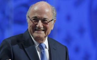 """Blatter resiste y desafía: """"Mi obra no puede ser destruida"""""""