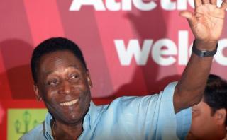 Pelé aseguró que no quiere suceder a Blatter en la FIFA